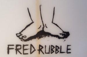 アルメリック「FRED RUBBLE」ロゴ