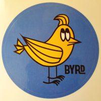 BYRDポマードロゴ