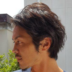 BYRD(バード)CLASSIC POMADE(クラシックポマード)使用例2
