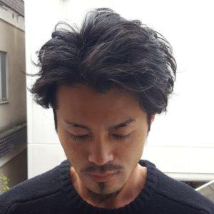 BYRD(バード)MATTE POMADE(マットポマード)使用例3