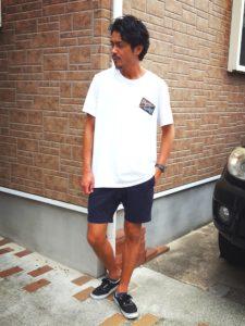 WEAR・ピルグリムサーフサプライTシャツ・グラミチショーツ