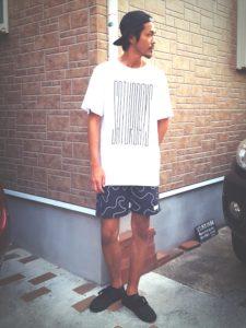 サタデーズサーフTシャツ×サタデーズサーフボードショーツ