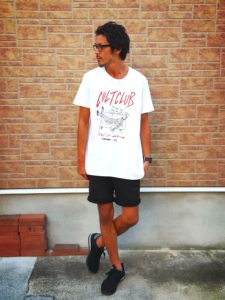 55DSL×FRANK Tシャツ・ショーツ・メガネ1