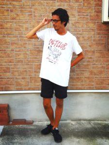 55DSL×FRANK Tシャツ・ショーツ・メガネ2