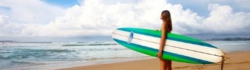 サーファーのダメージヘアケア
